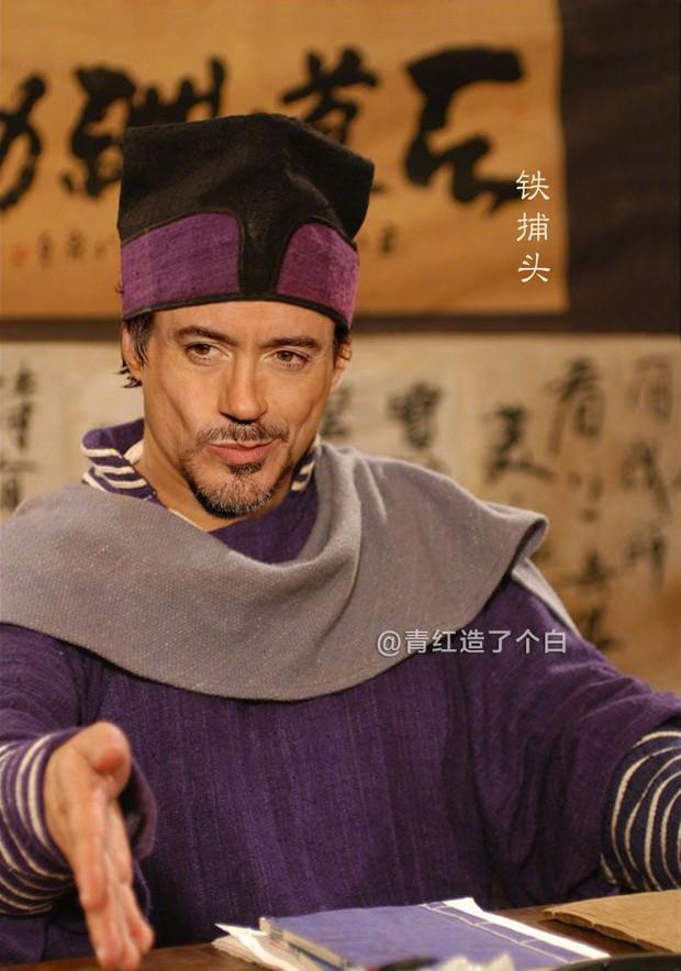 Endgame phá đảo phòng vé xứ Trung, dân mạng rần rần chia sẻ hình ảnh các Avengers mặc đồ cổ trang - Ảnh 2.