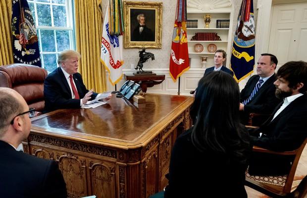 Tổng thống Mỹ mời riêng các sếp Twitter đến họp: Cứ tưởng được khen, hóa ra là bị hỏi tội - Ảnh 1.