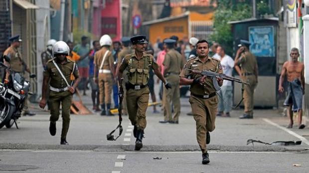 Thêm một vụ nổ xảy ra ngay sát tòa án thị trấn tại Sri Lanka - Ảnh 1.