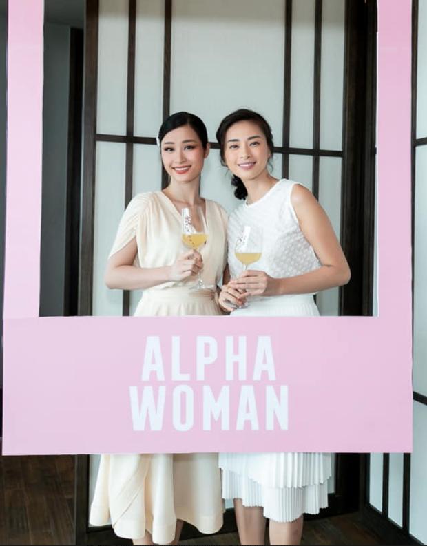 Hà Tăng diện sắc trắng nền nã, rạng rỡ hội ngộ Ngô Thanh Vân, Đông Nhi cùng dàn mỹ nhân Vbiz - Ảnh 5.