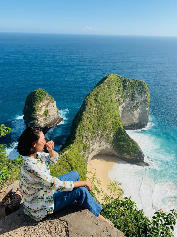 Tan chảy khoảnh khắc Kỳ Duyên và Minh Triệu cùng ngắm hoàng hôn trên cổng trời tại Bali - Ảnh 8.