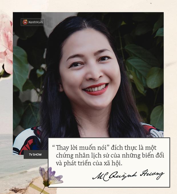 MC Quỳnh Hương: Show mới của tôi sẽ khắc phục mọi nhược điểm mà Thay lời muốn nói từng có - Ảnh 3.