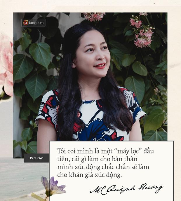 MC Quỳnh Hương: Show mới của tôi sẽ khắc phục mọi nhược điểm mà Thay lời muốn nói từng có - Ảnh 6.