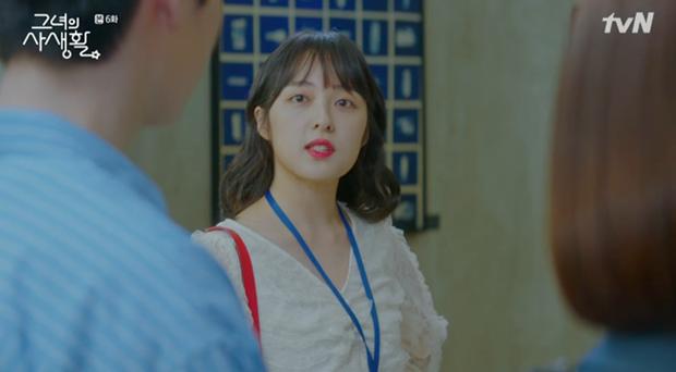 Đòi nợ không thành, Park Min Young được đền nụ hôn nồng cháy trong Her Private Life - Ảnh 12.