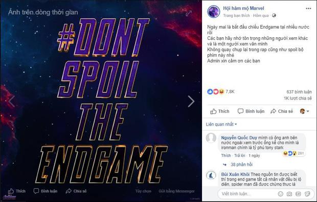 Vì sao fan MARVEL giữ mình cự tuyệt spoil, thà tắt Facebook một tuần còn hơn biết nội dung trước khi xem? - Ảnh 1.