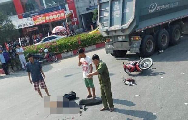 Trên đường đi làm, nữ bác sĩ bị xe tải đầu kéo cán chết thương tâm - Ảnh 2.
