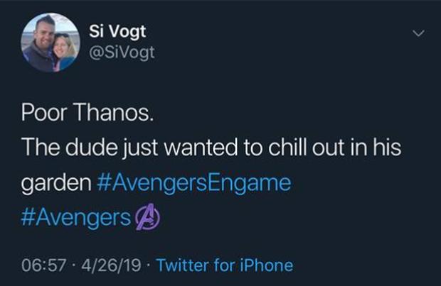 Team đã xem ENDGAME lập hội về phe Thanos: Ông già búng tay vì muốn kế hoạch hóa gia đình thôi mà! - Ảnh 11.