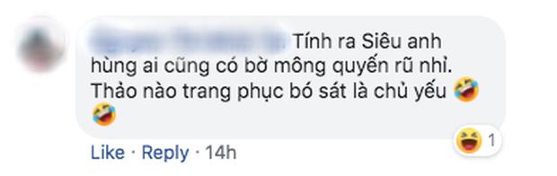 Cười nín thở đọc bình luận fan Việt dưới ảnh Nhện nhỏ khoe mông - Ảnh 8.