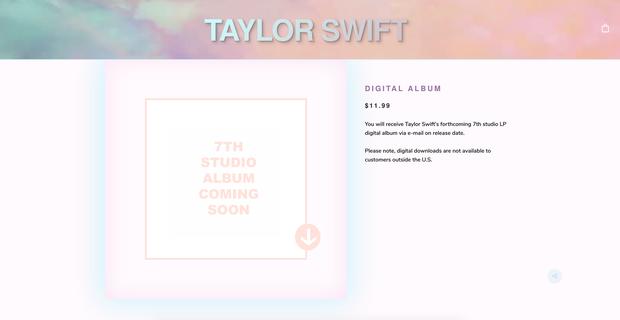 Nguyên team đi vào đây, Taylor Swift đã hé lộ album mới cùng lúc siêu phẩm Me! hồi nào chẳng ai hay - Ảnh 1.