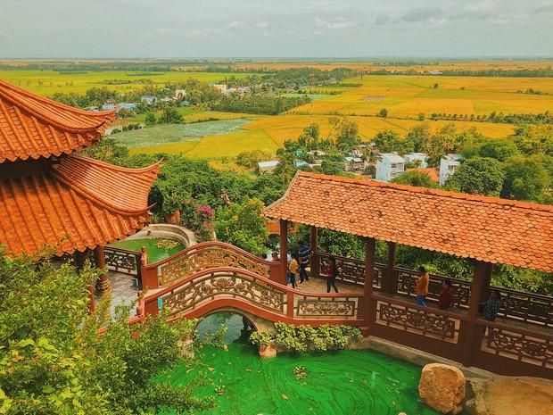 4 ngôi chùa độc đáo ở An Giang chỉ cần đưa máy lên là có ngay ảnh đẹp - Ảnh 3.