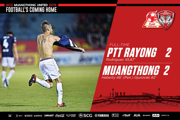 Văn Lâm cùng các đồng đội chơi kiên cường, Muangthong giật lại một điểm ở phút cuối, chính thức chấm dứt chuỗi trận đáng quên - Ảnh 3.