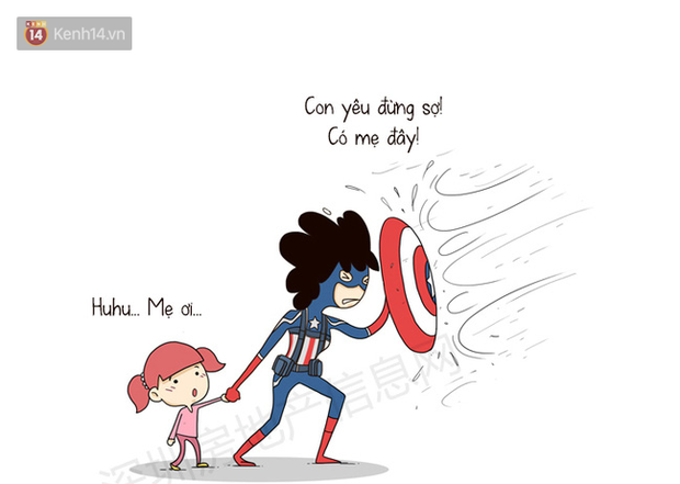 Avengers: Endgame thì cũng hot đấy nhưng nếu so với các siêu anh hùng thì mẹ của chúng ta ngầu hơn là cái chắc! - Ảnh 15.