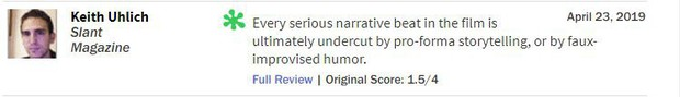Giới phê bình mạnh tay chê ENDGAME: 9 điểm can đảm, 1 điểm nội dung - Ảnh 10.