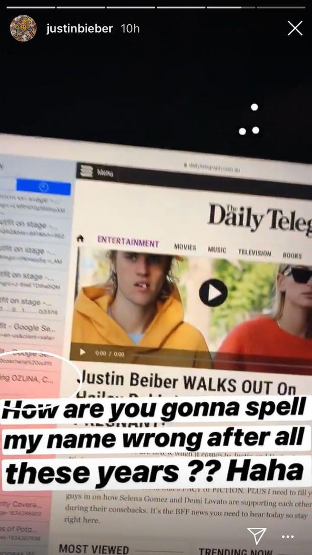 Bị netizen phát hiện Selena xuất hiện trong phần lịch sử tìm kiếm web, Justin Bieber giải thích ra sao? - Ảnh 1.
