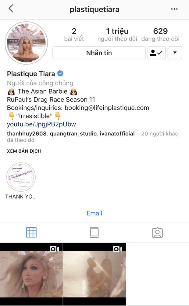 Bị loại khỏi show Drag Queen của Mỹ, thí sinh người Việt xóa sạch bài đăng trên Instagram hơn 1 triệu theo dõi - Ảnh 4.