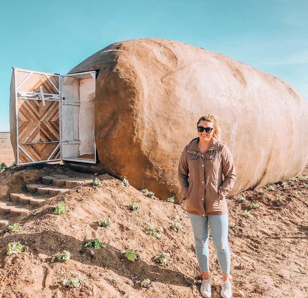Ngỡ như trong phim hoạt hình: Củ khoai tây khổng lồ cho thuê làm homestay trên Airbnb với giá 247 USD một đêm - Ảnh 10.