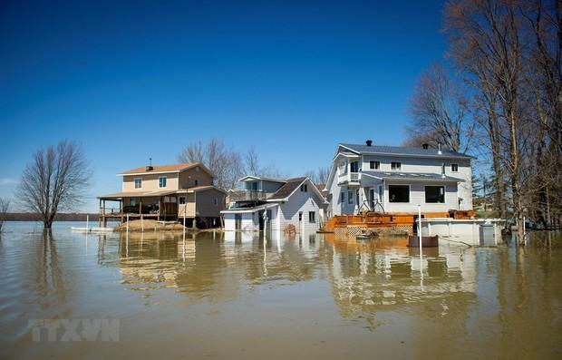 Thêm một thành phố của Canada ban bố tình trạng khẩn cấp vì lũ lụt - Ảnh 1.