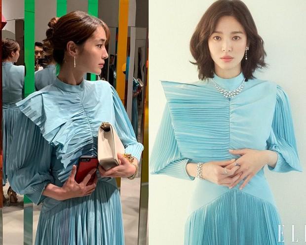 Chẳng ngại đụng váy với tình cũ của chồng, bà xã Lee Byung Hyun vẫn mất điểm trước Song Hye Kyo vì 1 chi tiết - Ảnh 3.