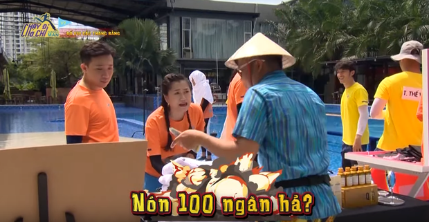 Tiết kiệm kiểu Lâm Vỹ Dạ: Nạt Trấn Thành vì lỡ cắn miếng dưa đắt tiền nhưng hồn nhiên đi mua nón lá đội đỡ nắng! - Ảnh 3.
