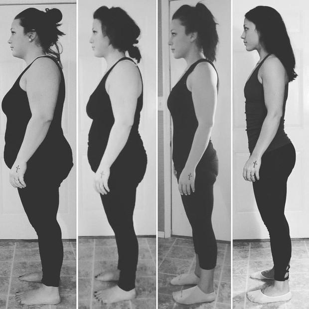Từng sở hữu số cân lên tới 108kg, điều gì đã giúp bà mẹ trẻ này giảm xuống chỉ còn 68kg? - Ảnh 5.