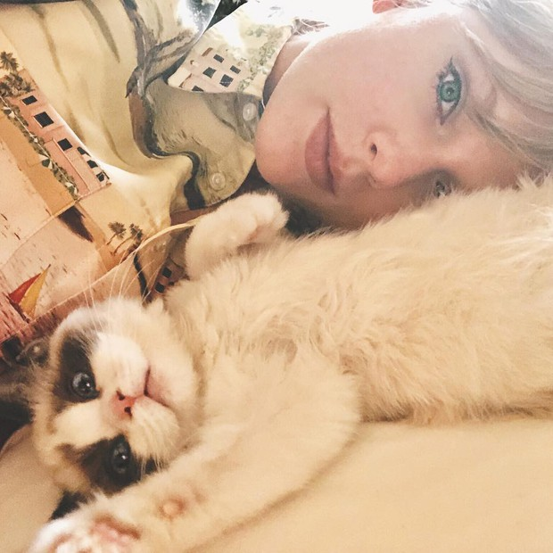 Taylor Swift và Lisa (Black Pink) đúng là 2 chị em: Ngoại hình giống nhau đã đành, đến 2 chú mèo cưng nhìn cũng như sinh đôi - Ảnh 2.