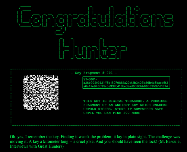 Hacker chỉ mất vài phút để tìm ra chìa khóa đầu tiên trong cuộc thi có phần thưởng 1 triệu USD trả bằng Bitcoin - Ảnh 3.