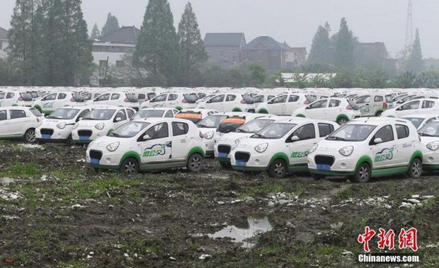 """Trung Quốc: Hàng trăm xe điện bị """"xếp xó"""" vì hậu quả của nền kinh tế chia sẻ phát triển chóng mặt - Ảnh 5."""