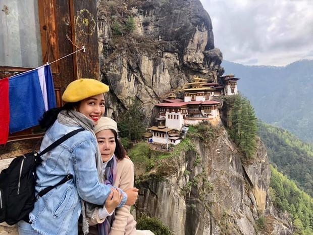 Mai Phương bật khóc như đứa trẻ khi lên được tu viện cheo leo độ cao hơn 3.000m ở Bhutan - Ảnh 1.
