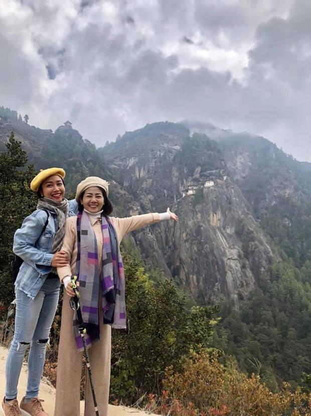 Mai Phương bật khóc như đứa trẻ khi lên được tu viện cheo leo độ cao hơn 3.000m ở Bhutan - Ảnh 4.