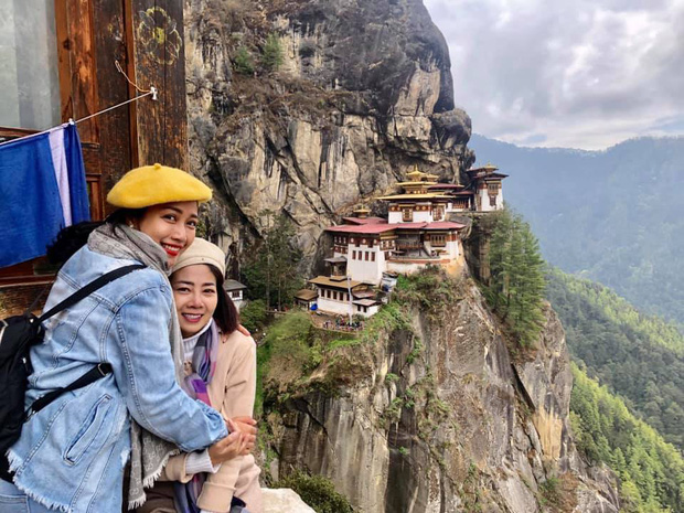 Mai Phương bật khóc như đứa trẻ khi lên được tu viện cheo leo độ cao hơn 3.000m ở Bhutan - Ảnh 2.