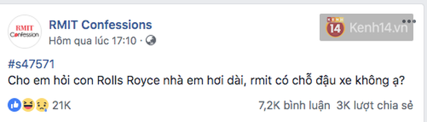 Đúng là trường con nhà giàu nhất nhì Việt Nam, sinh viên RMIT lên Confessions hỏi mua BMW hay Merc để đi học, nhà có 7 tỷ thì làm gì? - Ảnh 7.