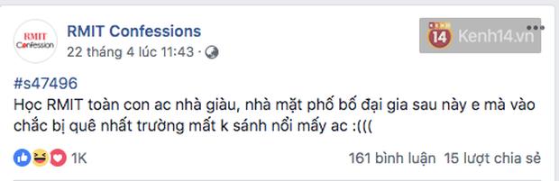 Đúng là trường con nhà giàu nhất nhì Việt Nam, sinh viên RMIT lên Confessions hỏi mua BMW hay Merc để đi học, nhà có 7 tỷ thì làm gì? - Ảnh 19.
