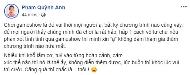 Phạm Quỳnh Anh bức xúc vì bị chê õng ẹo, chỉ lo đứng cười khi tham gia gameshow? - Ảnh 6.