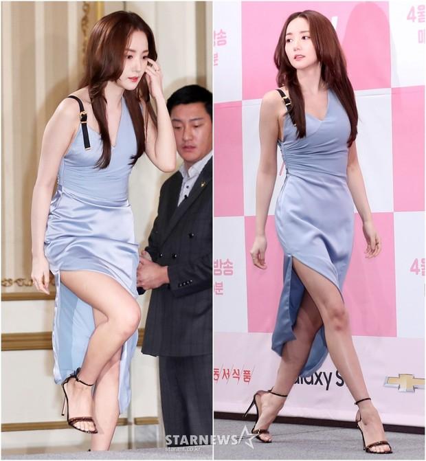 Nữ hoàng dao kéo Park Min Young đẹp ngất ngây, gây choáng khi diện váy xẻ tà khoe body siêu nuột tại sự kiện - Ảnh 1.