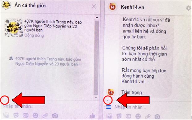 Facebook Messenger xuất hiện nốt ruồi lạ, ám quẻ người dùng bằng một chấm đen tức mắt - Ảnh 1.