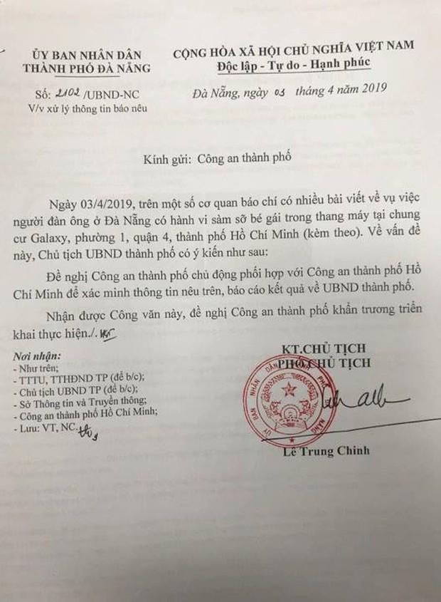 Đà Nẵng chỉ đạo Công an xác minh thông tin cựu phó viện trưởng VKSND sàm sỡ bé gái 7 tuổi trong thang máy - Ảnh 2.