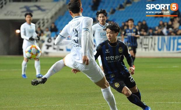 Đội nhà thua đậm, HLV Incheon không những không trách, còn dành lời khen này cho Công Phượng - Ảnh 2.