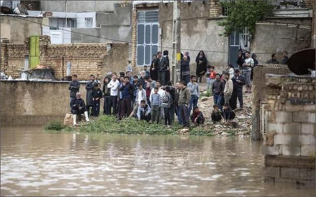 57 người thiệt mạng, gần 500 người bị thương do lũ lụt lịch sử tại Iran - Ảnh 1.