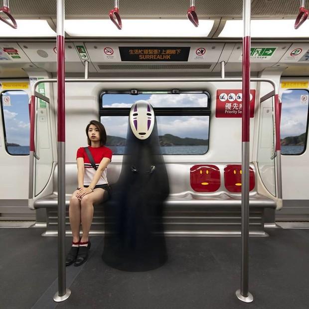 Chiêm ngưỡng một Hồng Kông ảo lòi qua con mắt của nghệ sĩ siêu thực - Ảnh 3.