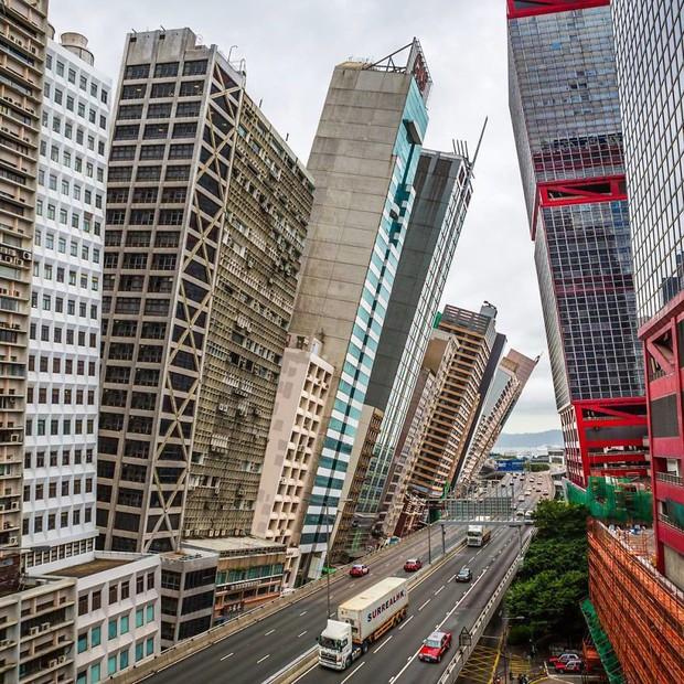 Chiêm ngưỡng một Hồng Kông ảo lòi qua con mắt của nghệ sĩ siêu thực - Ảnh 6.