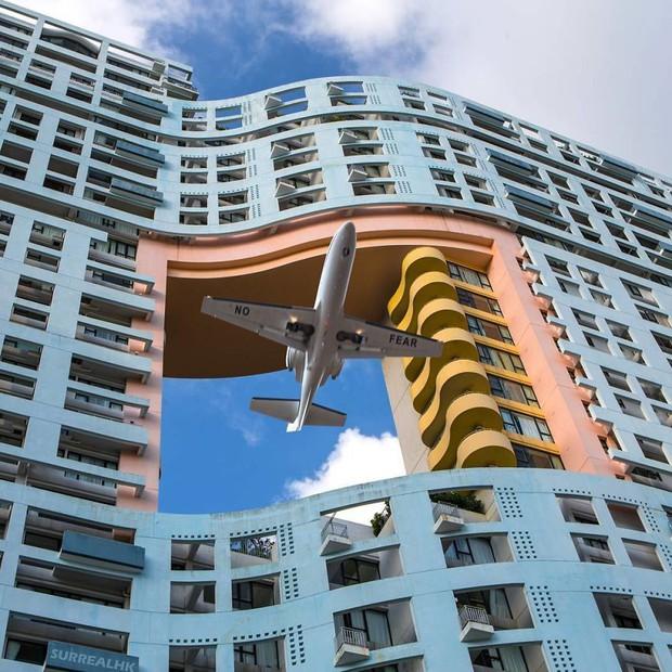 Chiêm ngưỡng một Hồng Kông ảo lòi qua con mắt của nghệ sĩ siêu thực - Ảnh 11.