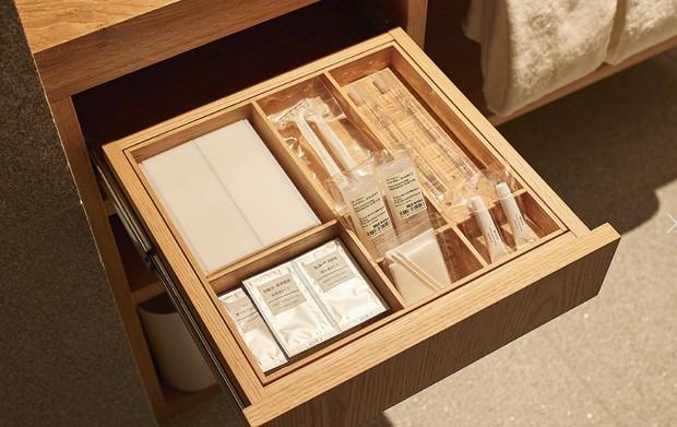 Không chỉ bán mỹ phẩm, Muji Nhật vừa khai trương khách sạn phong cách tối giản, giá sương sương 3 triệu/đêm - Ảnh 11.