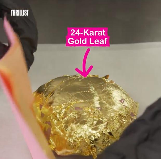 Golden Cookie: hết dát vàng, người ta lại cho cả hồng ngọc (ruby) và ngọc trai vào món ăn - Ảnh 4.