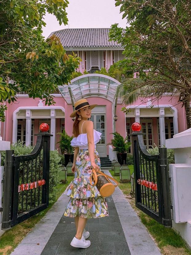 Châu Bùi đi ăn sương sương mà diện street style như dự yến tiệc, Khánh Linh cắt tóc ngắn trông giống... Đào Bá Lộc - Ảnh 12.