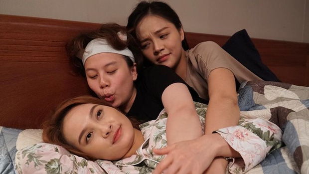 My Sói hậu Quỳnh Búp Bê mong manh như lá lúa, vừa chào sân phim mới Về Nhà Đi Con đã nhập viện - Ảnh 1.