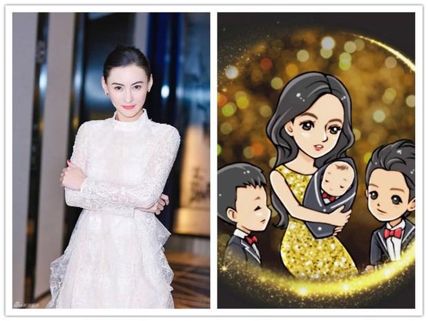 Sau nửa năm, Trương Bá Chi lần đầu tiết lộ về cậu quý tử thứ 3 sinh cho bạn trai bí mật - Ảnh 1.