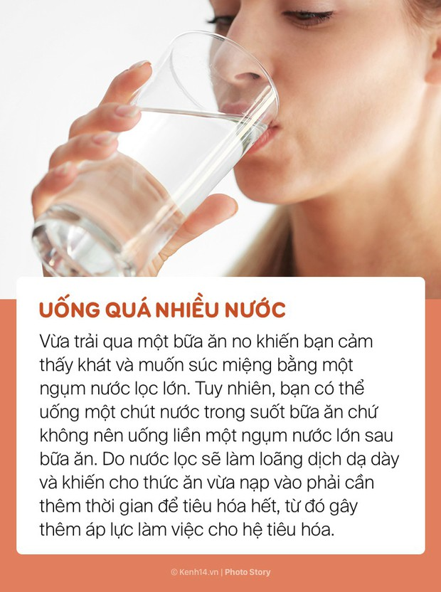 Vừa ăn no xong hạn chế những điều này để tránh làm ảnh hưởng sức khoẻ - Ảnh 1.