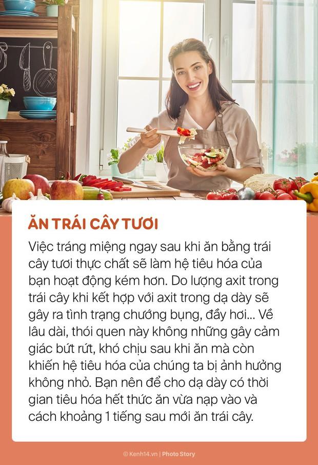 Vừa ăn no xong hạn chế những điều này để tránh làm ảnh hưởng sức khoẻ - Ảnh 9.