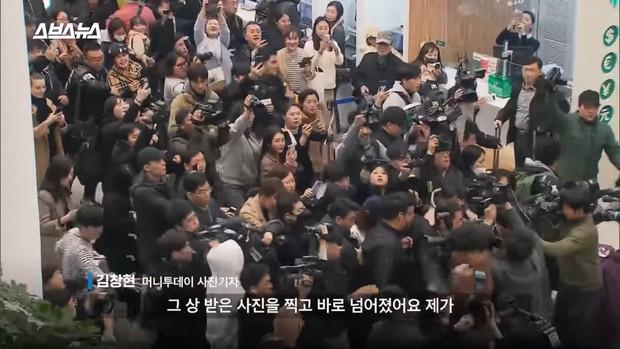 Tin nổi không: Ảnh Jung Joon Young méo mặt giữa biển phóng viên vì bê bối tình dục... đạt giải thưởng - Ảnh 3.