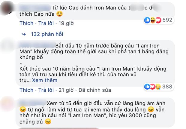 MXH trước sự ra đi của Iron Man: Trừ lần đầu bay lên bầu trời xanh, sau này không còn thấy anh ấy cười nữa… - Ảnh 6.